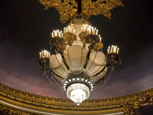 Missouri Theatre Chandelier